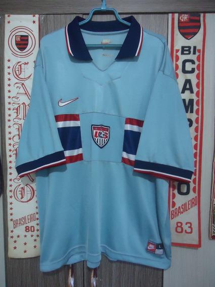 Camisa Seleção Dos Estados Unidos ( Nike / Made In U.s.a. )