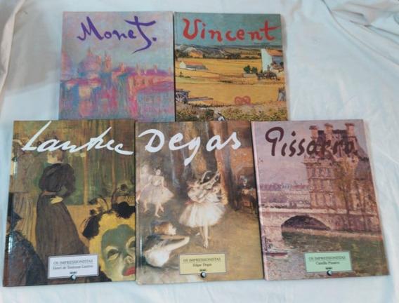 Coleção C/ 5 Impressionistas Monet Van Gogh Picasso Lautrec