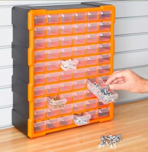 Caja Organizadora Gavetero C/ 60 Cajones Organizador Y Divis