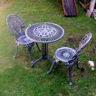 Juego Garden Aluminio (mesa Y 2 Sillas)