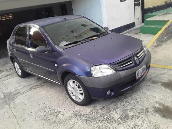 Renault Logan Azul 2007