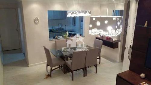 Imagem 1 de 23 de Apartamento 84m² 3 Dorms Sendo 1 Suite. Bairro Vila Eucliedes-sbc-sp  - Apa3125
