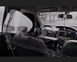 Mampara Vehicular Antivandálica Sanitaria - Taxis Y Remises