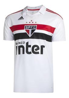 Camiseta adidas São Paulo I 2018/2019 Masculina - Original
