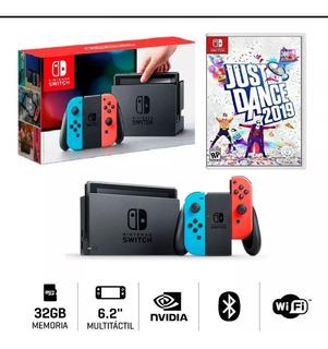 Nintendo Switch Joycon + Just Dance 2019