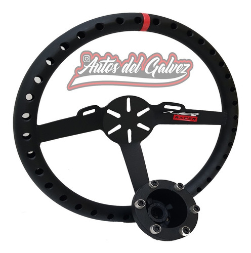 Volante Mq Racer + Masa Fiat