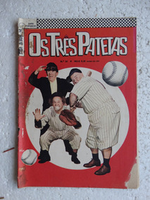 Star Album Nº 14! 2ª Série! Os Três Patetas! Ebal Maio 1967