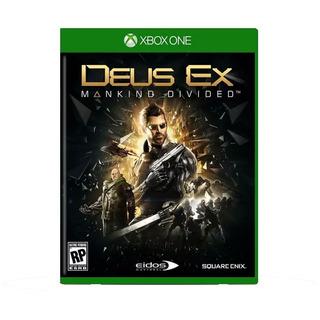 Deus Ex Mankind Divided Xbox One Activision Gamer Day One
