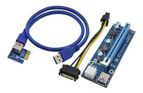 Riser Cable Extensor Pcie X16 3.0/2.0 X1 Mini Pci-e Usb 3.0