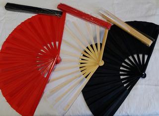 Abanico De Bambú Para Práctica De Tai Ji Quán Y Kung Fu