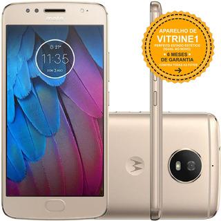 Motorola Moto G5s Xt1792 32gb Dual 4g 16mp Dourado Vitrine 1
