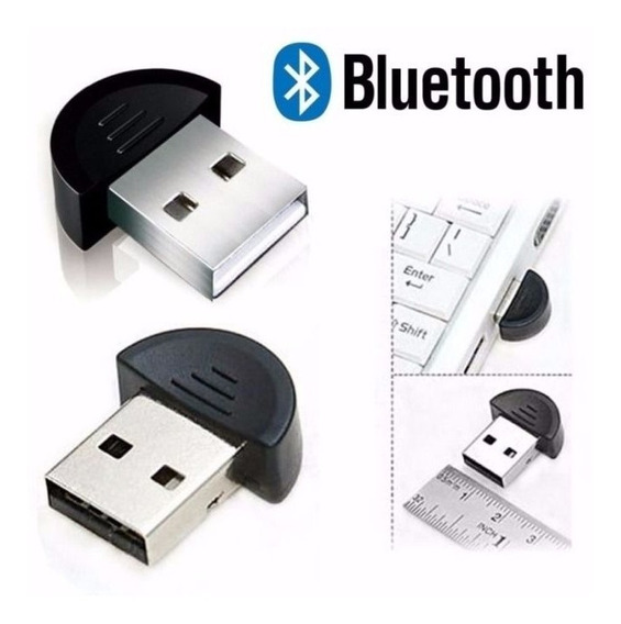 Adaptador Usb Bluetooth Compacto 2.0 Para Pc E Laptop