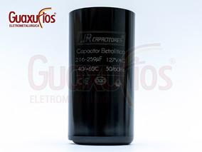 Capacitor Eletrolítico 216/259 Uf 127v Jr Com Nota Fiscal