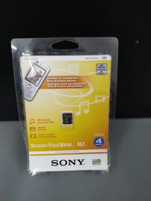 Cartão De Memoria Sony 4gb