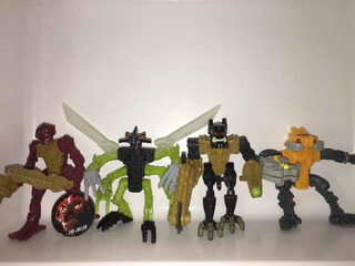 Lote Bionicle Mcdonalds