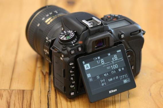 Nikon D-7500 20.9mp + Super Kit ( Bolsa Tripé Grip 64gb )