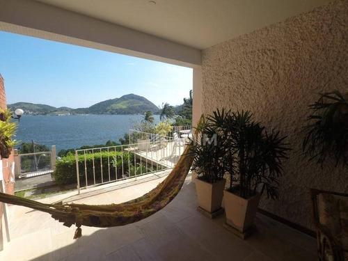 Imagem 1 de 25 de Casa À Venda, 400 M² Por R$ 2.600.000,00 - São Francisco - Niterói/rj - Ca0096
