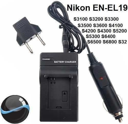 Carregador Para Nikon Coolpix S6700 S6800 S6900 S7000