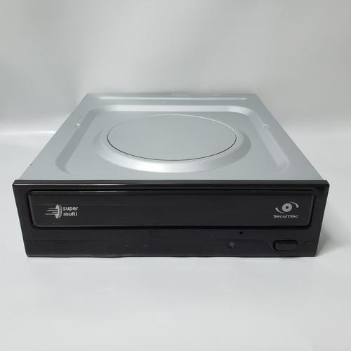 Kit 5 Gravadores De Dvd LG Gh22ns40 Sata - Preto