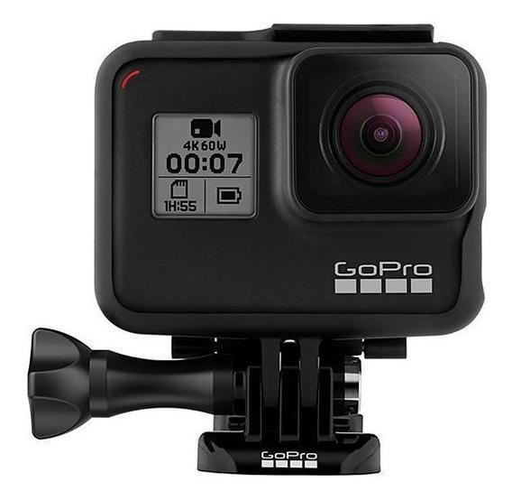 Câmera De Ação Gopro Hero 7 Black 12mp 4k Com Wi-fi