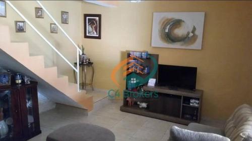 Imagem 1 de 14 de Sobrado Com 3 Dormitórios À Venda, 75 M² Por R$ 300.000,00 - Vila Formosa - São Paulo/sp - So0344