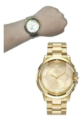 Relógio Technos Feminino Crystal Swarovski 2036mll 4x