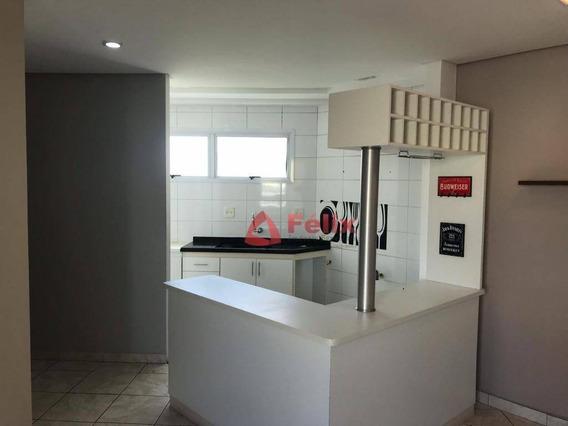 Apartamento Com 3 Dormitórios À Venda, 76 M² Por R$ 280.000 - Parque Senhor Do Bonfim - Taubaté/sp - Ap1500