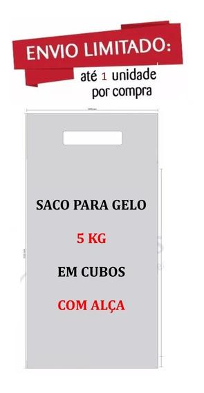 Embalagem P Gelo Em Cubos 5 Kg Com Alça 17m C500