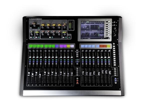 Allen Heath Gld 080 Mixer Mesa Digital Suporta 48 Canais