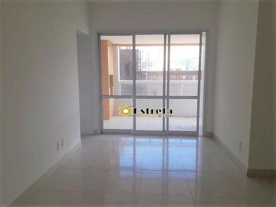 Apartamento Com 2 Dormitórios À Venda, 89 M² Por R$ 510.000 - Centro - São Vicente/sp - Ap10941