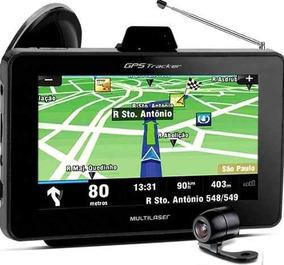Gps Navegador Com Camera Ré 4,3 Multilaser Gp013 Tracker 2