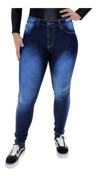 Kit 03 Calças Feminina Jeans Skinny Cigarrete Plus Size