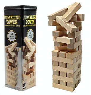 Torre De Equilibrio De Lujo Estilo Jenga