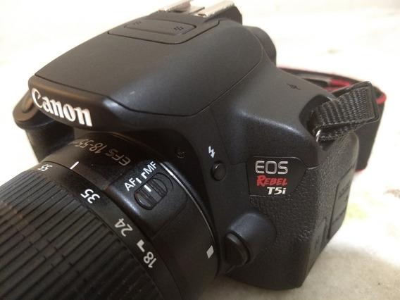 Canon T5i + 18-55mm ( Bem Nova) 11k