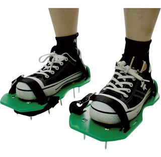Zapatos Para Airear La Revitalización Del Césped