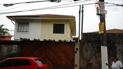Sobrado Residencial À Venda, Parque Fernanda, São Paulo. - So0031