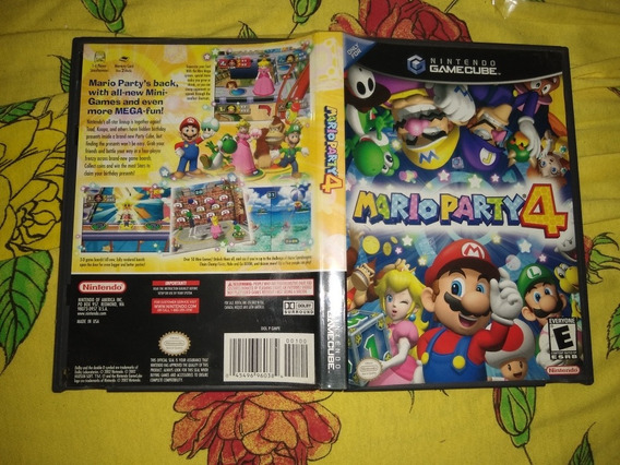 Mario Party 4 Gamecube Original