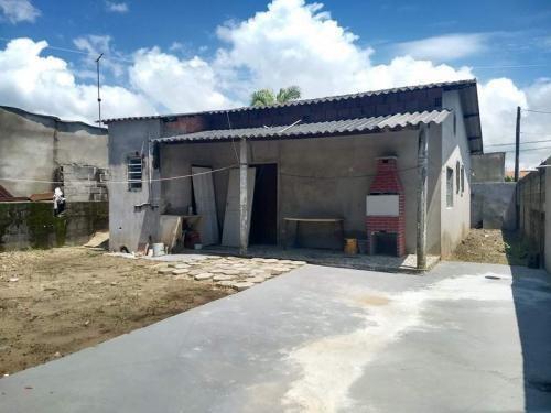 Casa Lado Praia Com Quintal Amplo - Itanhaém 6468   Npc