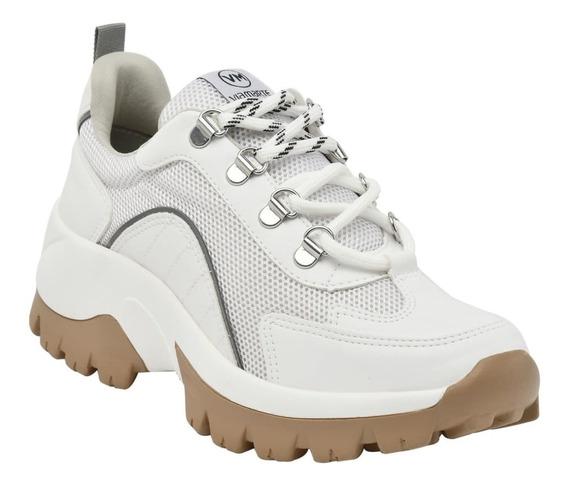 Tênis Feminino Via Marte Barato Sneaker Plataforma