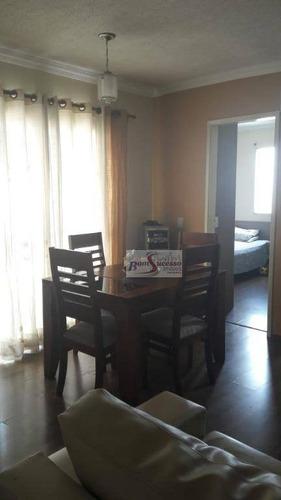 Imagem 1 de 9 de Apartamento Com 3 Dormitórios À Venda, 63 M² Por R$ 320.000,00 - Vila Guarani(zona Leste) - São Paulo/sp - Ap1698