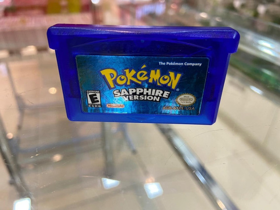 Pokemon Sapphire Version - Gba (semi-novo)