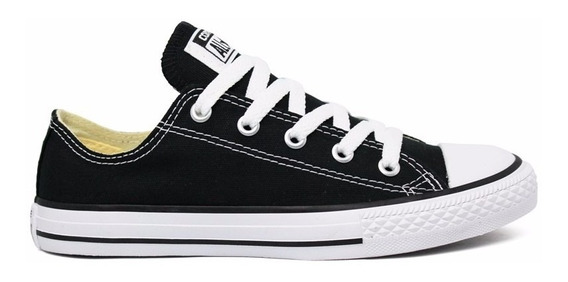 Tênis Converse All Star Preto Cano Baixo Ct00010002
