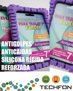Protector Para Tablet Universal 7- Bumper Silicona Rigida