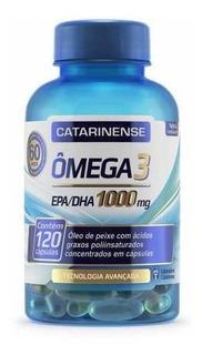 Ômega 3 -120 Cápsulas - Catarinense- Original Super Promoção