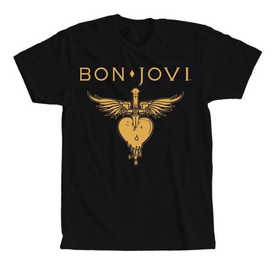 Camiseta Bon Jovi Masculina Feminina