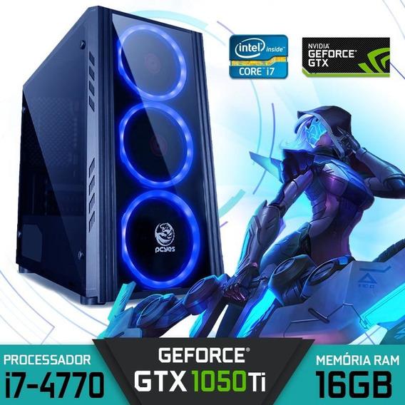 Computador Intel Core I7-4770 Ram 16gb Hd 1tb Gtx 1050ti