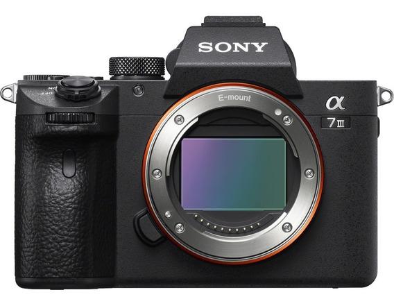 Câmera Sony A7 Iii A73 3 A7iii Corpo 4k Nota Fiscal Nf-e