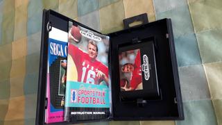 Juego Sega Genesis Sports Talk Football Completo Envio Grati