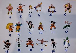 Dragon Ball Mini Figuras Original Irwin Bandai Dbztoys