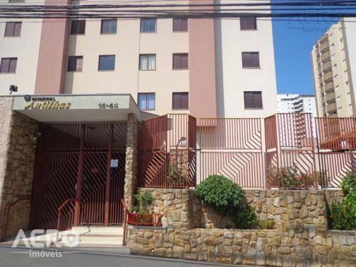 Apartamento Com 3 Dormitórios Para Alugar, 74 M² Por R$ 1.300/mês - Vila Nova Cidade Universitária - Bauru/sp - Ap1209